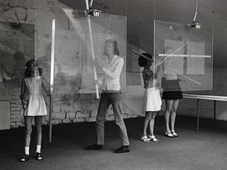 "Piotr Kowalski at documenta 5, 1972—from the section ""Individual Mythologies"""