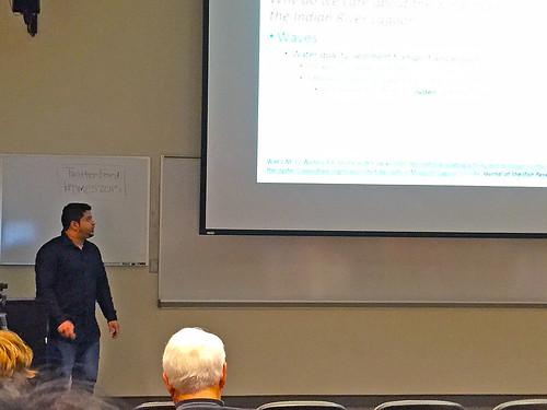 Mohamed Al-Sabri presents at DMES Symposiumn