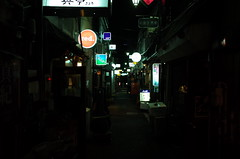 Shinjuku Golden Gai alley