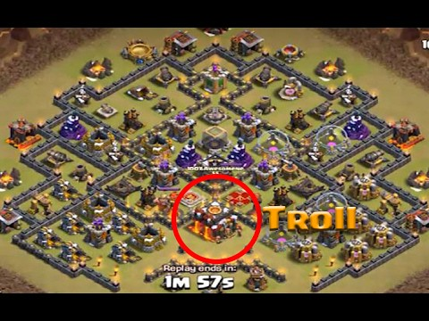 Is this Posible to get 3 star ? #Best troll base attack On