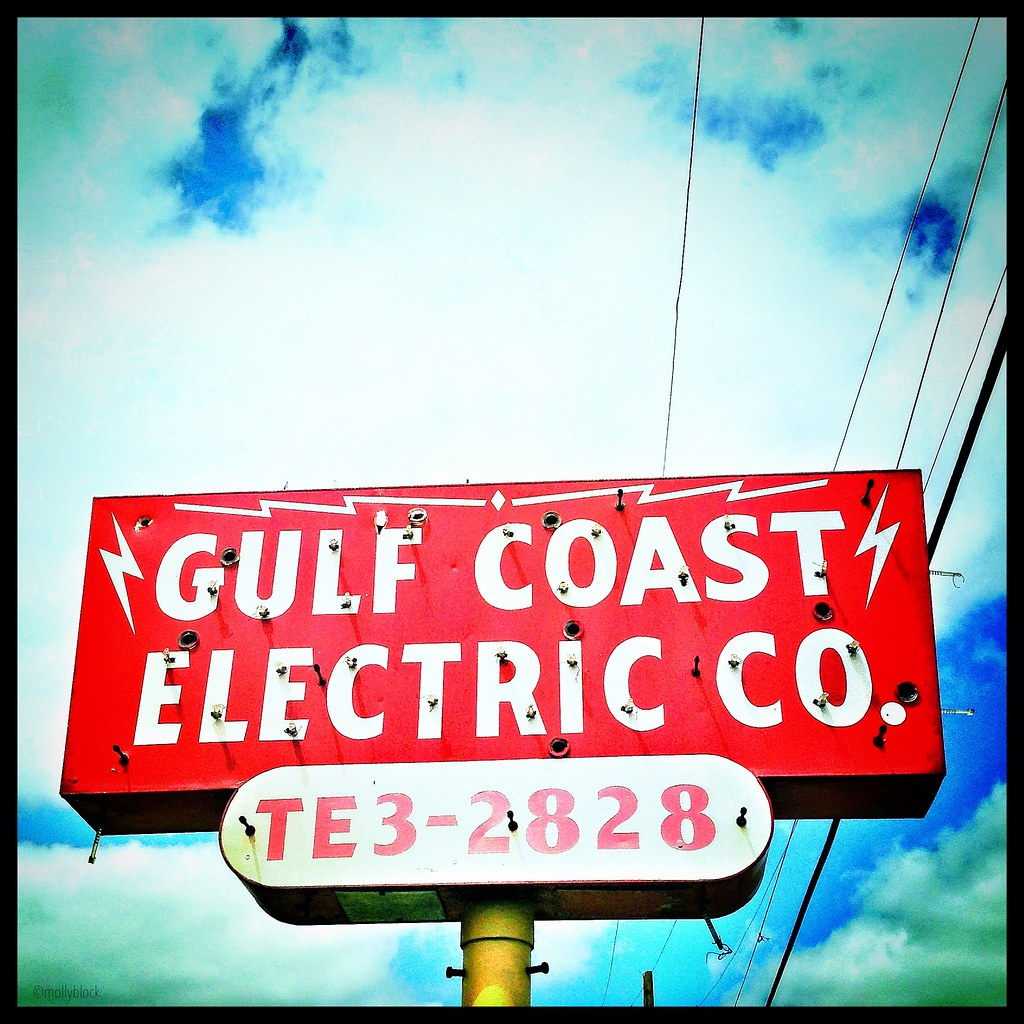 Coast Electric Phone Number >> Electric Co Vintage Sign How About That Old Phone Numb