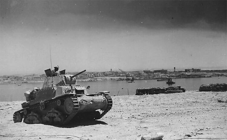 Italienska Medium Tank M13/40