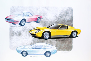 Bertone Some of his works