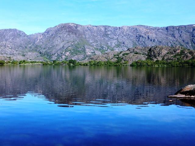 Pinceladas sobre el lago de Sanabria.......