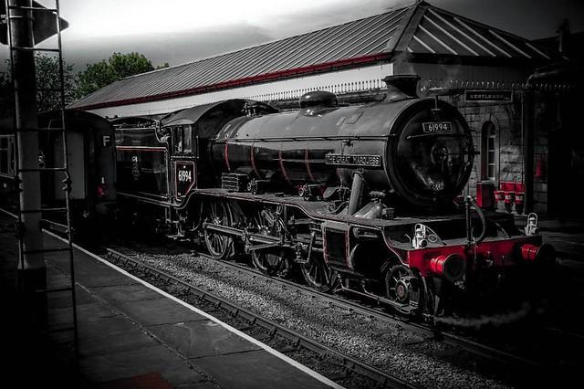 #ramsbottom #railway #station #railwaystation #train #trains #steamtrain #steamengine #steam #retro #vintage #rail #eastlancsrailway #eastlancashirerailway #lancashire #old #blackandwhite
