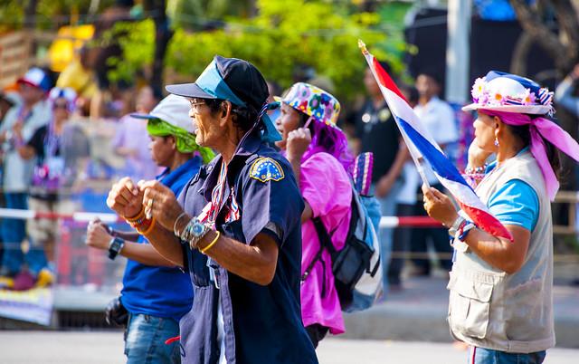 Bangkok anti-government protesters