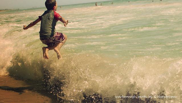 Scarborough beach at Perth
