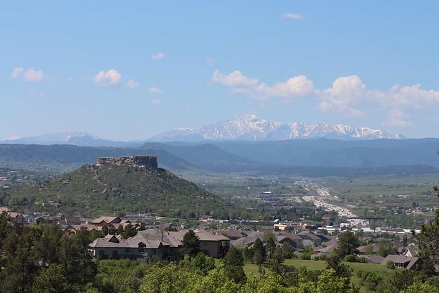 Castle Rock and Pike's Peak, Colorado (IMG_0136)