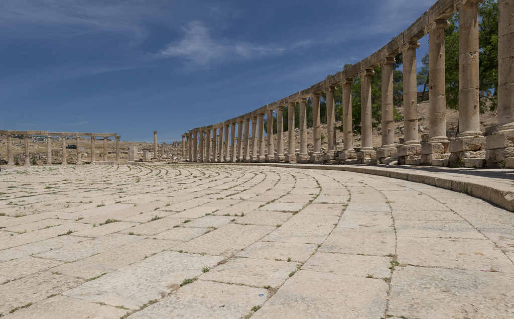 Jerash – XI: The Oval Plaza