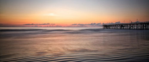 longexposure usa beach sunrise pier florida dusk daytona
