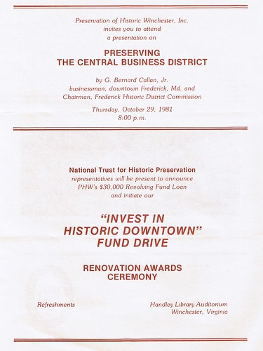 Invest in Historic Downtown Fund Drive | by phwinc