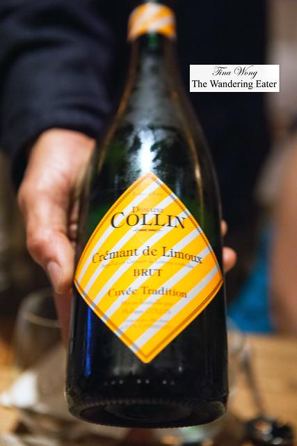 Domaine Collin, Cremant de Limoux, Cuvée Tradition Brut NV