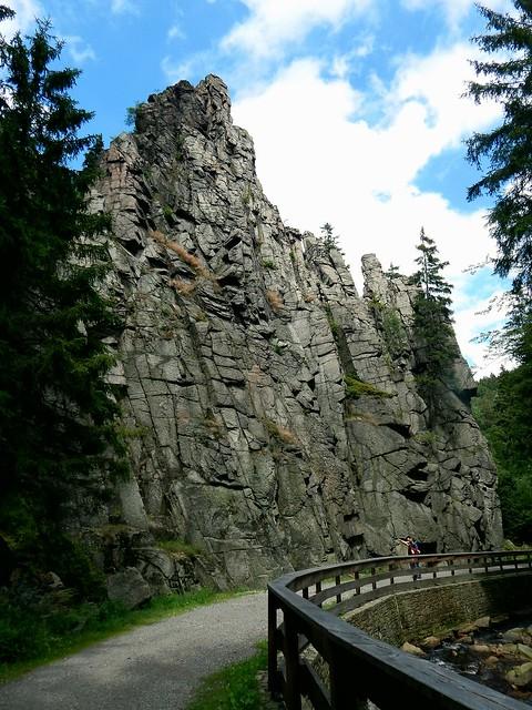 Nonnenfelsen im Schwarzwassertal 2 / 'Nun Rock' in Blackwater valley