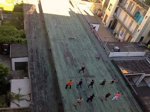 Piano Verde - Tai Chi sul tetto - Foto: Annamaria Salinari