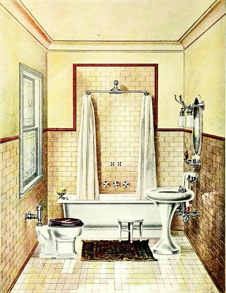 IMAGE FROM PAGE 17 OF MODERN BATH ROOMS WITH USEFUL INF