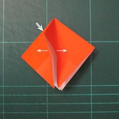 วิธีพับกระดาษเป็นที่คั่นหนังสือรูปผีเสื้อ (Origami Butterfly Bookmark) 017