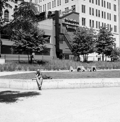 "Image titled ""Sitting, Chicago."""