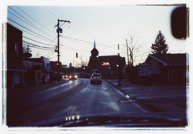 Bridgeport at dusk