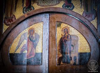 Литургия в Софийском соборе 165