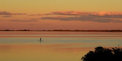 ninigret pond saltpond salt sunset paddle paddleboard clouds sky color reflection charlestown ri rhodeisland new england water cloud peace calm silhouette travel rwgrennan rgrennan ryan grennan nikon d610