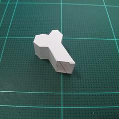 วิธีทำโมเดลกระดาษตุ้กตา คุกกี้ รัน คุกกี้รสซอมบี้ (LINE Cookie Run Zombie Cookie Papercraft Model) 011