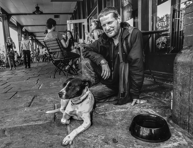 Begging in Bristol