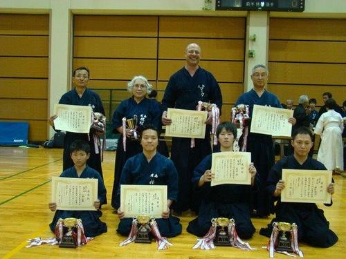 2014 Hiroshima Prefecture Jodo Tournament Winners | by Mark Tankosich