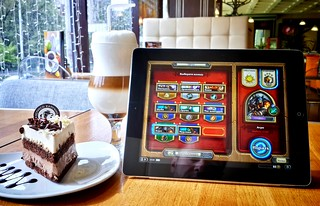 Hearthstone and latte   by Sergey Galyonkin