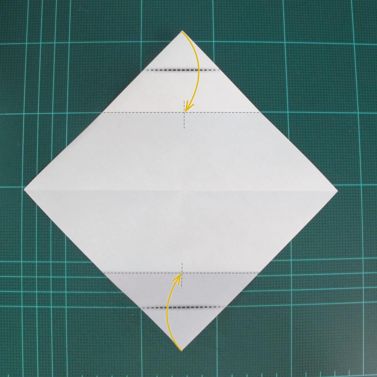 การพับกระดาษเป็นรูปเรือเรือสำปั้น (Origami Sampan) 002