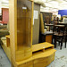 Beech TV/Glass Side unit