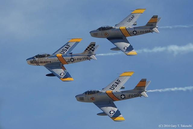 Planes of Fame Air Show 2014 - The Bremont Horsemen Flight Team