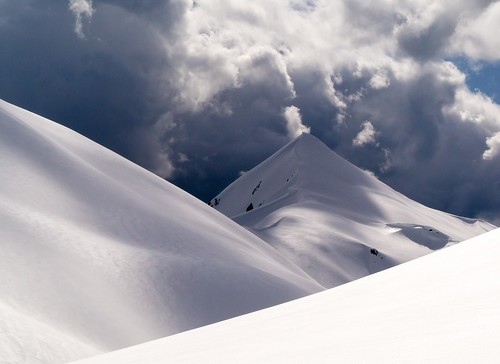 Cloud and Snowscape | by PatGallagherArt