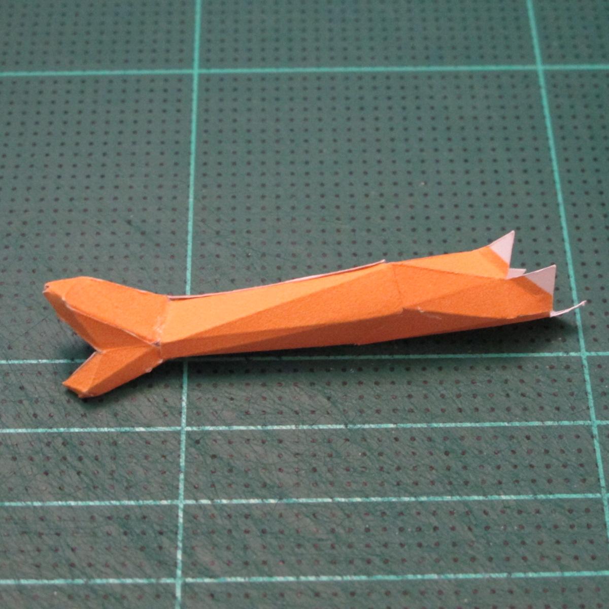 วิธีทำโมเดลกระดาษตุ้กตา คุกกี้รสราชินีสเก็ตลีลา จากเกมส์คุกกี้รัน (LINE Cookie Run Skating Queen Cookie Papercraft Model) 017