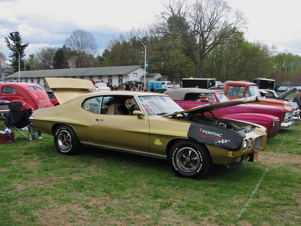 Pontiac Gto 2014 >> A 1970 Pontiac Gto Judge In May 2014 Seen At The 2014 Rhin