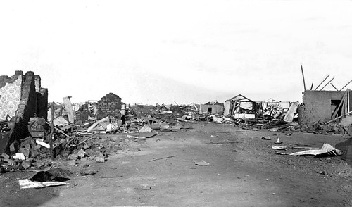 A Scene of Destruction resulting from the 1896 Dynamite Explosion in Braamfontein