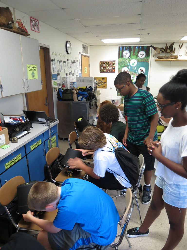 CERDEC Math and Science Summer Camp 2014- STEM in the Movi