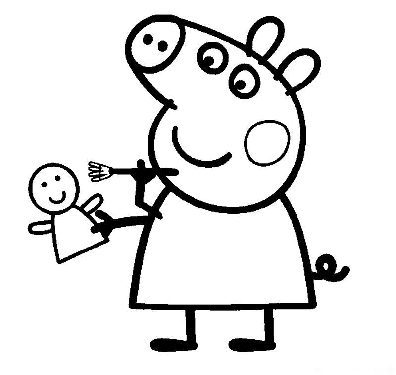 Colorear Peppa Pig Desenhos Do Peppa Pig Para Colorir Pint Flickr