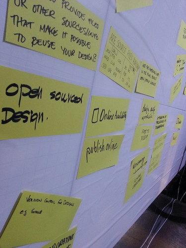 Open Design Definition workshop @ OKFestival 2014 | by autofunk78