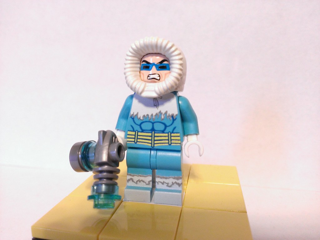 Lego Captain Cold Custom Minifigure Another Onlinesailin F Flickr