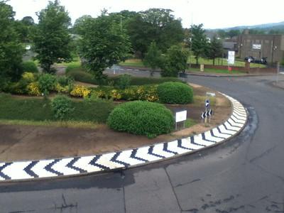 Pitkerro roundabout, Dundee, Scotland
