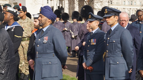 Wreath laying service at the Commonwealth Memorial gates | by Commonwealth Secretariat