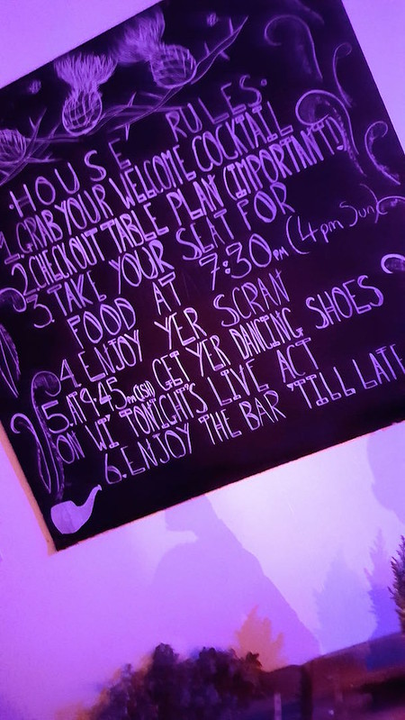 London Night Out - House Rules