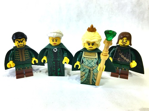 """Castle Figs - """"The Emerald Queen and her Court"""" 