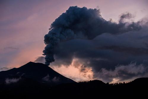 ecuador banos tungurahua volcano vulkan
