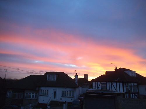 Sunrise over Kingsbury | by satguru