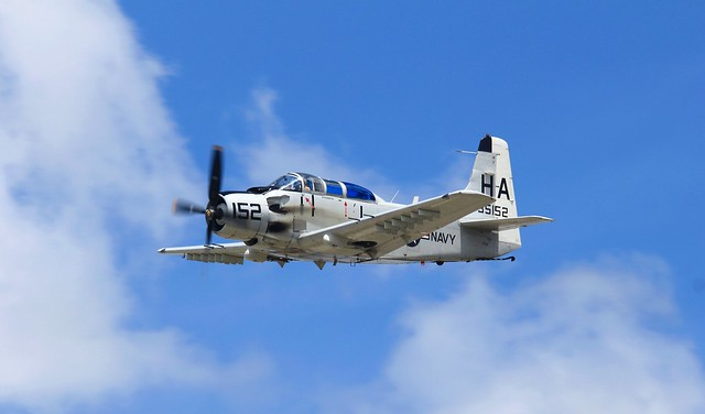 AD-5(A-1E) Skyraider at Sun N Fun 2014.