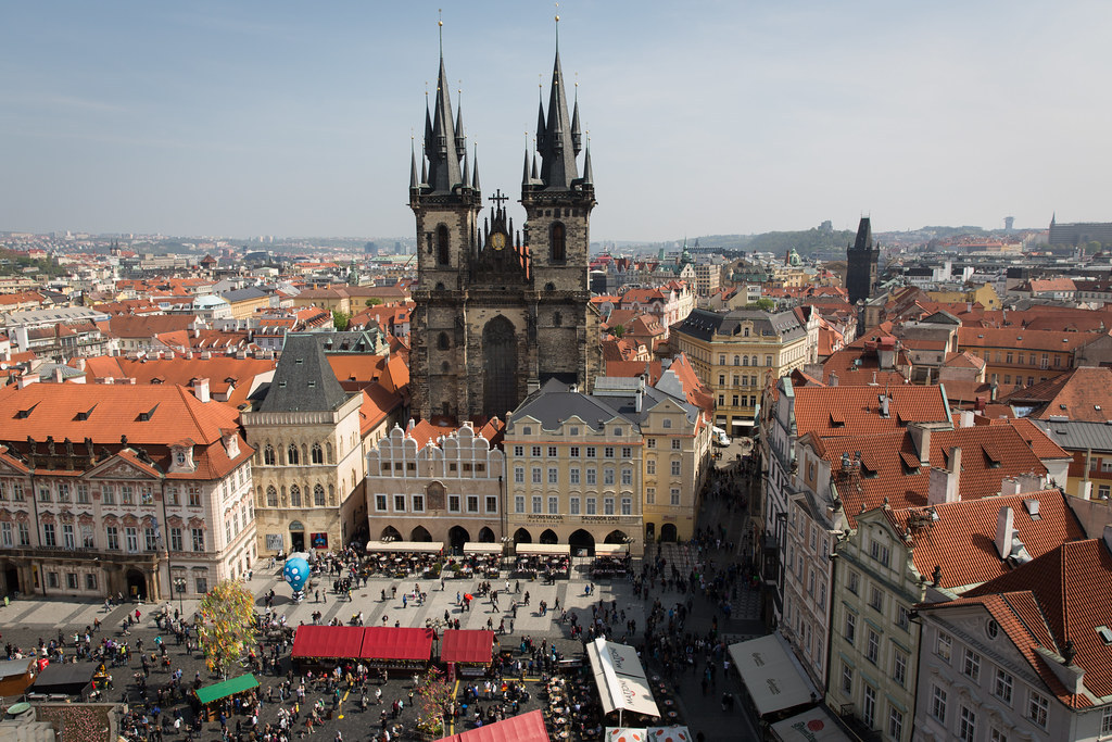 The Old Town Square and Church of Our Lady, Prague