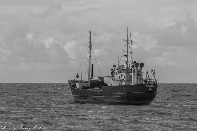 IJsselmeer bij Stavoren op maandag 12 mei 2014