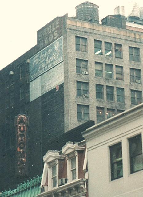 New York ~ NY ~ Manhattan ~ Automat Neon Sign ~ Historic 1990's Film