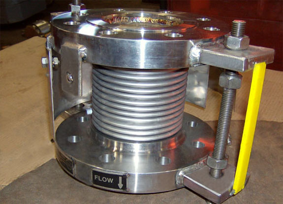"4"" Dia. Single Expansion Joint Designed for a Chemical Facility"